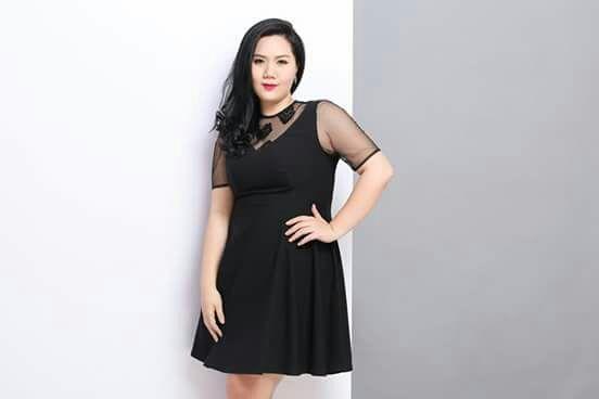 người thấp béo nên mặc váy gì 1