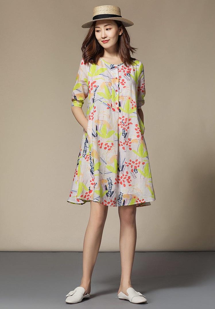 Đầm suông giúp bạn trông nữ tính hơn lại che đi khuyết điểm gầy gò
