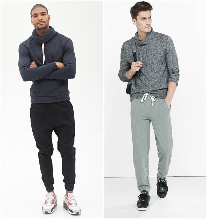 Kết hợp áo hoodie và quần jogger trông bạn đậm chất thể thao