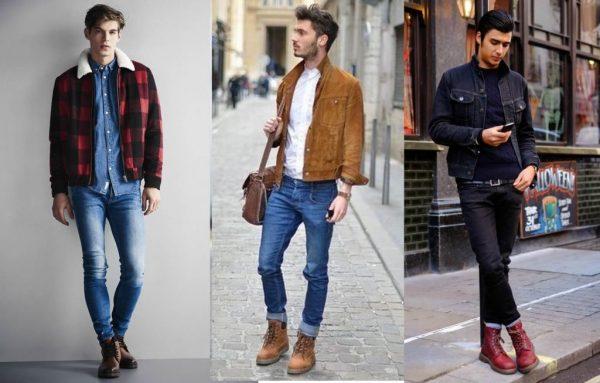 cách mặc quần với giày cao cổ nam